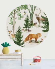 Creative Label behangcirkel Forest Life 145cm
