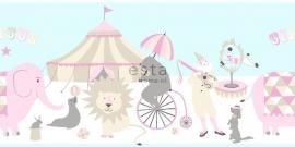 Behangrand Esta Everybody Bonjour 178702 circus