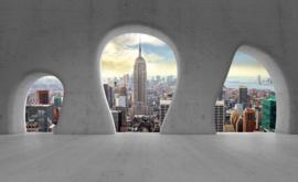 Fotobehang Doorkijk New York