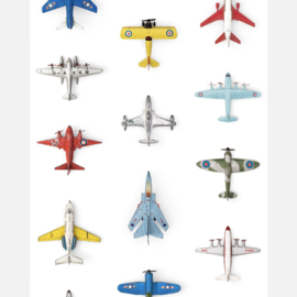 Studio Ditte vliegtuigjes behang