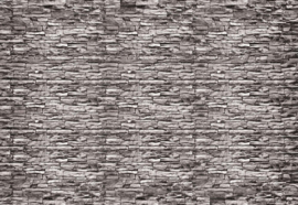 Fotobehang Stone Brick Wall