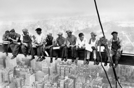 Fotobehang Idealdecor 00672 New York Workers