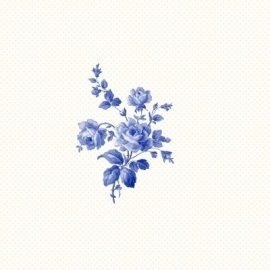 Esta Home Belle Rose Black & White 115717