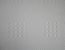 Glasweefselbehang 25.0mtr motief ruit met blokken