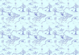 Komar fotobehang DX8-032 Winnie Pooh Pat