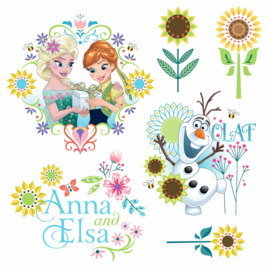 Raamsticker Frozen Flower 16407