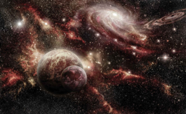 Fotobehang Sterren en Planeten