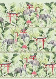 Creative Lab Amsterdam Ritual Elephant  200cm x 280cm hoog