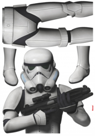 Wandsticker Starwars Stormtrooper 14722