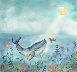 BN Doodleedo 300441 Mural Ocean Friends