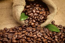 Fotobehang Koffie bonen