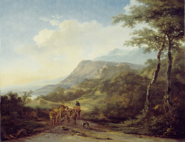 Dutch Painted Memories 8068 Italian Landscapes with Travelers