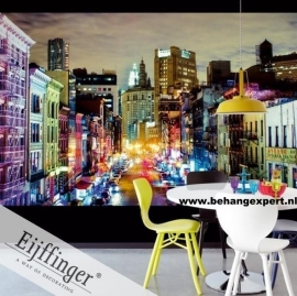 Eijffinger Wallpower Wonders Urban Rainbow 321553
