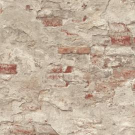 Rasch Factory 939323 ruwe baksteen