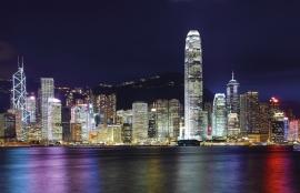 Fotobehang City Love CL63A Hong Kong