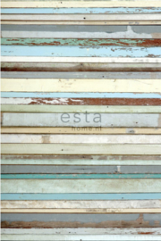 Esta photowall XL2 for kids 158004 Old wood