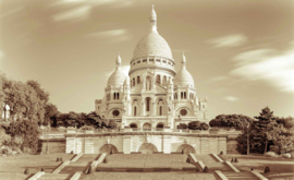 Fotobehang Parijs Sacré Coeur