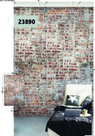 Wallprint 23890 stenen muur