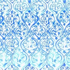 Designers Guild PDG1029/01 Arabesque Cobalt