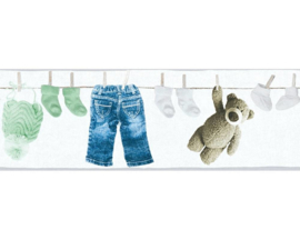 As Creation Little Stars 35846-2 behangrand Beertjes en Kleertjes