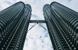 Fotobehang City Love CL95A Kuala Lumpur