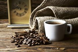 Fotobehang Koffie