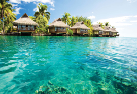 Fotobehang Tropical Lagoon