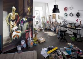 Komar fotobehang 4-447 Star Wars Three Droids