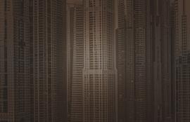 Fotobehang City Love CL70C Dubai wolkenkrabber