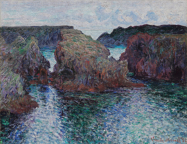 Dutch Painted Memories 8073 Rocks at port-goulphar, Belle-ile
