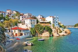 Fotobehang Griekse kust