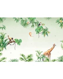 Creative Lab Amsterdam Jungle Monkey 400cm x 280cm hoog