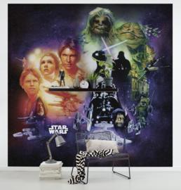 Komar fotobehang DX5-044 Star Wars Classic Poster Collage