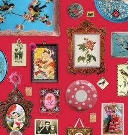 Eijffinger Pip Studio behang  386100 Memories Rood