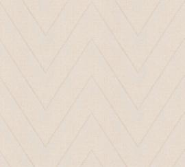 Living Walls Hygge 36384-3 visgraat streep
