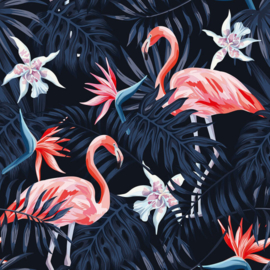 AS Creation Greenery Flamingo DD116613 fotowand