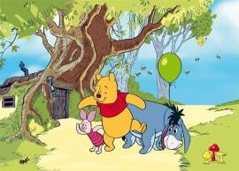 Fotobehang AG Design FTD0247 Winnie the Pooh
