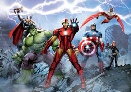Fotobehang AG Design FTD2230 Avengers