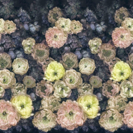 Designers Guild PDG1107/02 Le Poeme de Fleurs Midnight