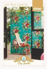 Eijffinger Pip Studio behang 341046 Dutch Painters Green