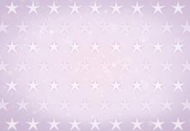 Fotobehang Stars Pattern Light Purple