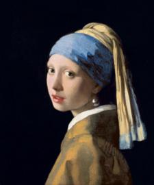 Fotobehang Meisje met de Parel - Johannes Vermeer