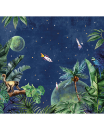 Creative Lab Amsterdam From Jungle To Space 300cm x 280cm hoog