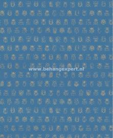 Eijffinger PiP Studio behang 375036 Lady Bug Blauw