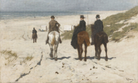 Dutch Painted Memories 8016 Morning ride Anton Mauve