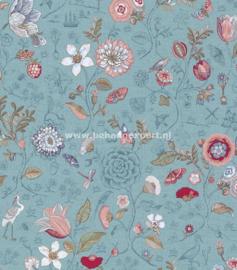 Eijffinger PiP Studio behang 375003 Spring to Life Zeeblauw
