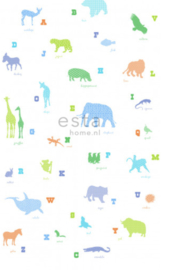 Esta photowall XL2 for kids 157320 Animal alphabet