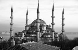 Fotobehang City Love CL41B Istanbul Ahmetmoskee