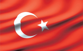 Fotobehang vlag Turkije