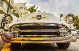 Fotobehang City Love CL38A Miami Car